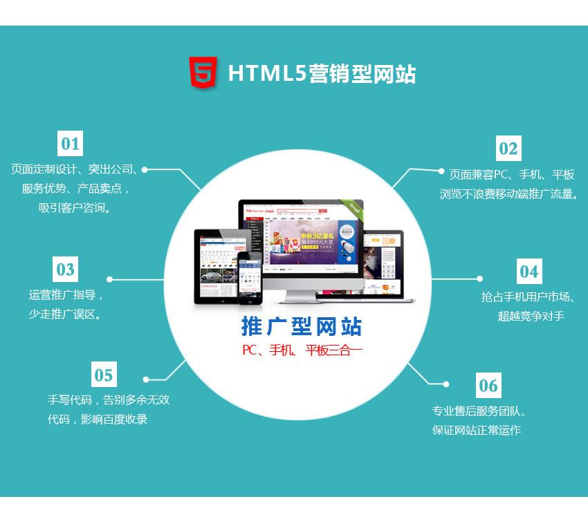 营销型网站建设html5响应式网站开发公司企业官网建站